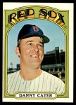 1972 Topps #676  Danny Cater  Front Thumbnail