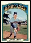 1972 Topps #744  Jim Slaton  Front Thumbnail