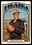 1972 Topps #320  Steve Blass  Front Thumbnail