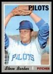 1970 Topps #224  Steve Barber  Front Thumbnail