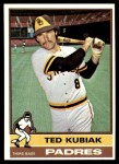 1976 Topps #578  Ted Kubiak  Front Thumbnail