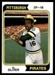 1974 Topps #52  Al Oliver  Front Thumbnail