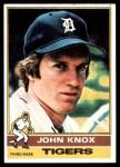 1976 Topps #218  John Knox  Front Thumbnail