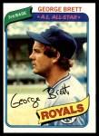 1980 Topps #450  George Brett  Front Thumbnail