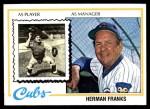 1978 Topps #234  Herman Franks  Front Thumbnail