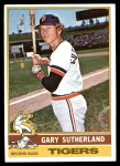 1976 Topps #113  Gary Sutherland  Front Thumbnail