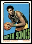 1972 Topps #10  Spencer Haywood   Front Thumbnail