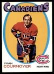 1971 Topps #15  Yvan Cournoyer  Front Thumbnail