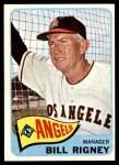 1965 Topps #66  Bill Rigney  Front Thumbnail