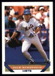 1993 Topps #79  Dick Schofield  Front Thumbnail