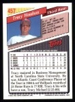 1993 Topps #457  Tracy Woodson  Back Thumbnail