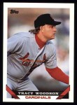 1993 Topps #457  Tracy Woodson  Front Thumbnail