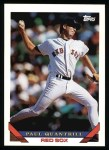1993 Topps #528  Paul Quantrill  Front Thumbnail