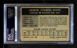 1954 Wilson Franks  Sammy White  Back Thumbnail
