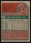 1975 Topps #68  Ron Blomberg  Back Thumbnail