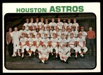 1973 Topps #158   Astros Team Front Thumbnail