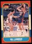 1986 Fleer #61  Bill Laimbeer  Front Thumbnail