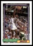 1992 Topps #20  Karl Malone  Front Thumbnail