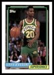 1992 Topps #184  Gary Payton  Front Thumbnail