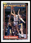1992 Topps #201   -  Tom Chambers 50 Point Club Front Thumbnail