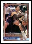 1992 Topps #234  Drazen Petrovic  Front Thumbnail