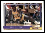 1992 Topps #371  Alex Blackwell  Front Thumbnail