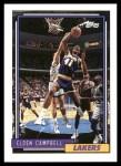 1992 Topps #150  Elden Campbell  Front Thumbnail
