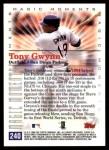 2000 Topps #240 B  -  Tony Gwynn 1984 NL Championship - Magic Moments Back Thumbnail