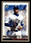 2000 Topps #475 A  -  Ken Griffey Jr. Youngest to 350 Homeruns - Magic Moments Front Thumbnail
