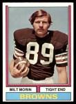 1974 Topps #466  Milt Morin  Front Thumbnail