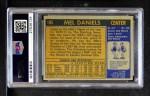 1971 Topps #195  Mel Daniels  Back Thumbnail