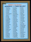 1999 Topps #241   Checklist 1 Front Thumbnail