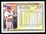 1999 Topps #325  Craig Biggio  Back Thumbnail