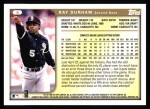 1999 Topps #6  Ray Durham  Back Thumbnail