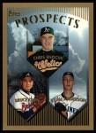 1999 Topps #210  Ryan Anderson / Bruce Chen / Chris Enochs  Front Thumbnail