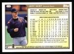 1999 Topps #330  Jeff Kent  Back Thumbnail