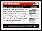 2006 Topps #293   Toronto Blue Jays Team Back Thumbnail