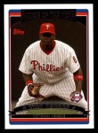 2006 Topps #265   -  Ryan Howard NL Rookie of the Year Front Thumbnail