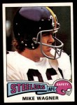 1975 Topps #153  Mike Wagner  Front Thumbnail