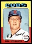 1975 Topps #338  Rich Stelmaszek  Front Thumbnail
