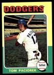 1975 Topps #523  Tom Paciorek  Front Thumbnail
