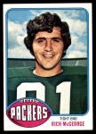 1976 Topps #504  Rich McGeorge  Front Thumbnail