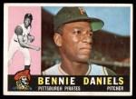 1960 Topps #91  Bennie Daniels  Front Thumbnail