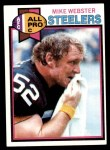 1979 Topps #194  Mike Webster  Front Thumbnail