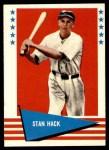 1961 Fleer #110  Stan Hack  Front Thumbnail