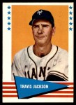 1961 Fleer #115  Travis 'Stonewall' Jackson   Front Thumbnail
