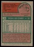 1975 Topps #70  Mike Schmidt  Back Thumbnail