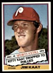 1976 Topps Traded #80 T Jim Kaat  Front Thumbnail