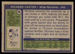 1972 Topps #68  Richard Caster  Back Thumbnail