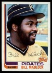 1982 Topps #365  Bill Madlock  Front Thumbnail